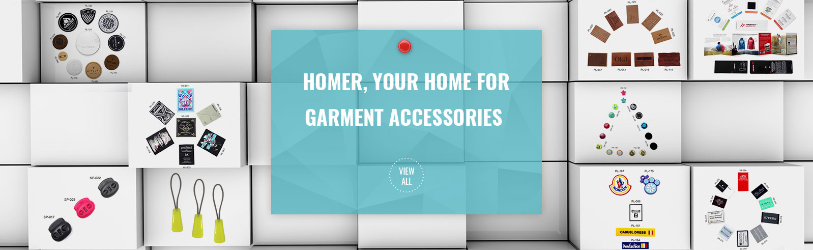 Custom-Made All Types Of Garment Accessories